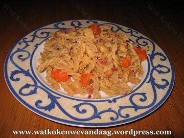 Pasta met pastinaak en wortel